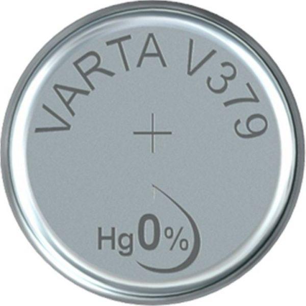 Silberoxid-Knopfzelle Typ SR63 / V379 von Varta